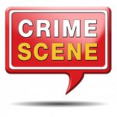 stock photo of crime solving  - crime scene investigation murder forensic science invest criminal case and searching and collecting evidence to solve assassination - JPG