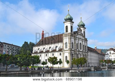 Jesuit Church Lucerne
