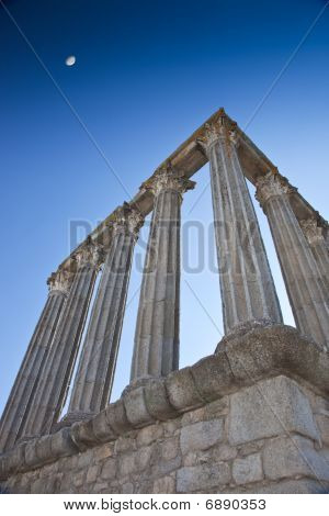Corinthian Columns at Evora