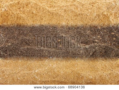Uneven Mineral Background