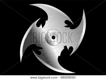Shuriken (throwing) Knife