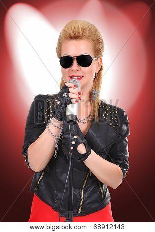 Sexy Rocker Girl