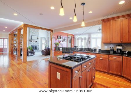 Upscale Kitchen Interior