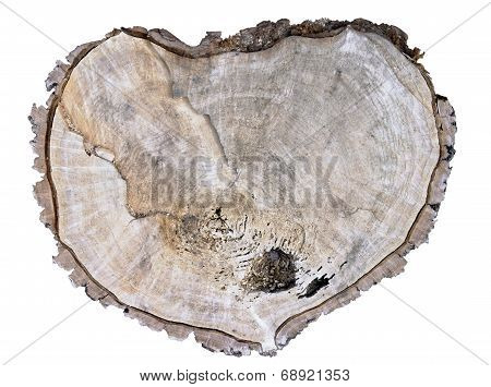 Broken Wooden Heart
