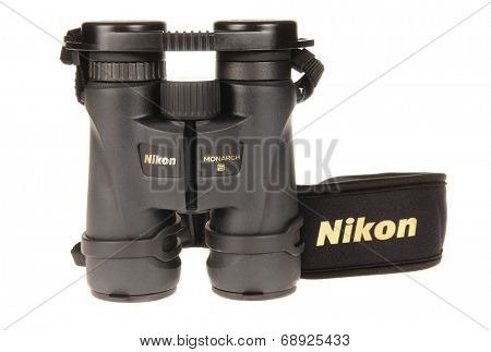 Hayward, CA - July 20, 2014: Nikon Monarch 5, 8x42 binoculars