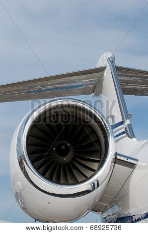 Detail Of Corporate Jet