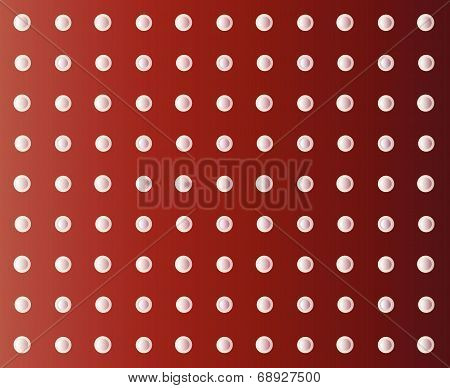 Vector White Circles On A Burgundy Background