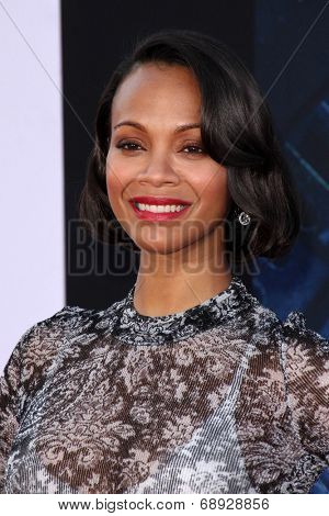 LOS ANGELES - JUL 21:  Zoe Saldana at the