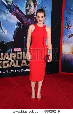 LOS ANGELES - JUL 21:  Elizabeth Henstridge at the