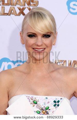 LOS ANGELES - JUL 21:  Anna Faris at the