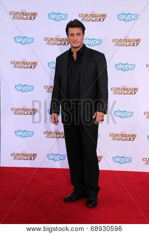LOS ANGELES - JUL 21:  Nathan Fillion at the