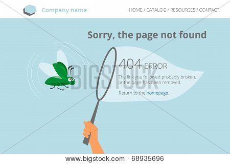 Green software bug was trapped. Page not found Error 404