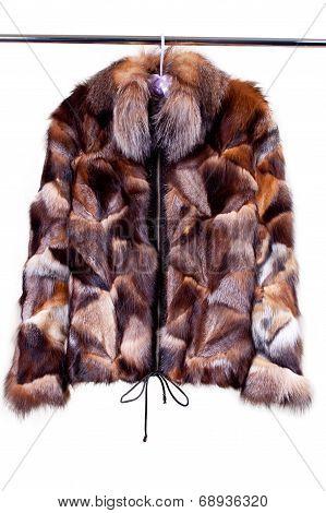 Woman Fur Coat