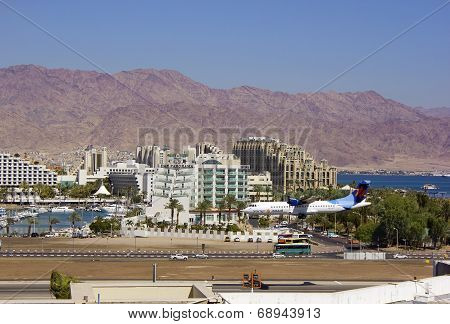 Airport In Eilat, Israel