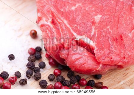 Rup Steak With Pepper