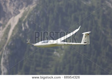 Radio Controlled Model Airplane In Flight