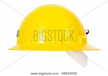 Yellow Hardhat Sideview