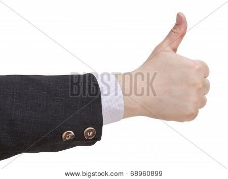 Thumbs Up - Hand Gesture