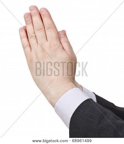 Praying Hands - Hand Gesture