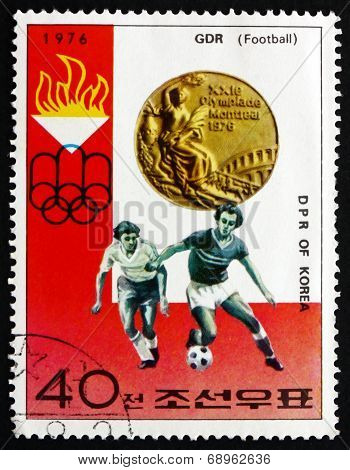 Postage Stamp North Korea 1976 Soccer