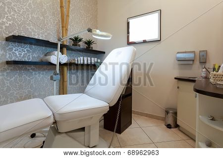 Interior Of Treatment Room In Spa