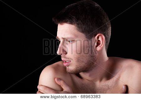 Man Having Arm Pain