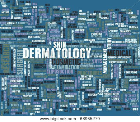 Dermatology Medical Study of Skin and Diseases