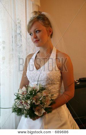 hübsche Braut.