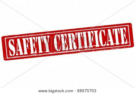 Seafety Certificate