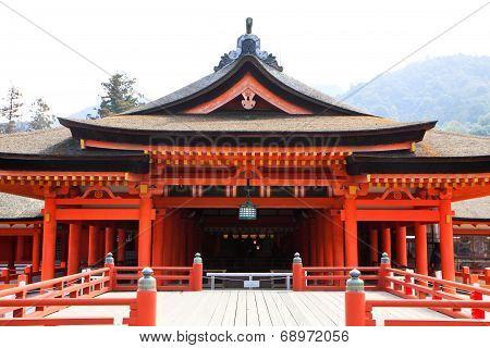 Wooden Red Shrine
