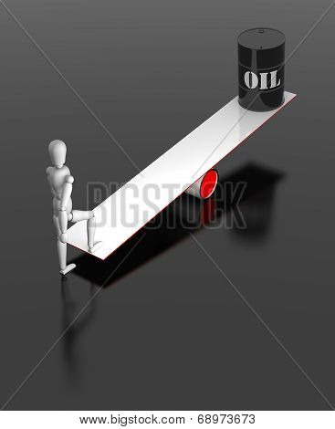 Balance Oil Drum