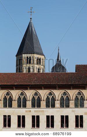 Facade of Cluny Abbey