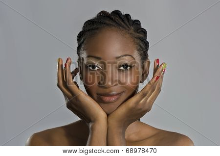 Beautiful African Woman Portrait