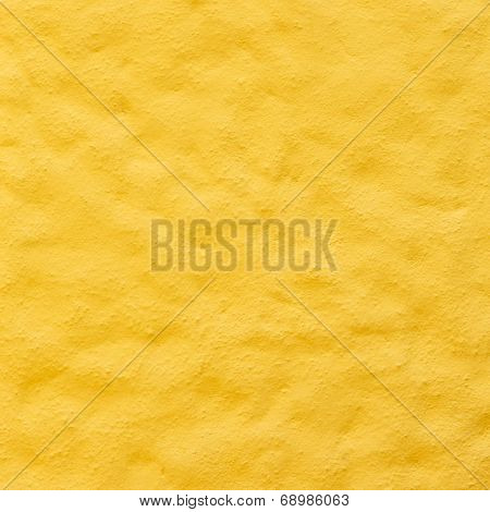 Yellow Porous Wall