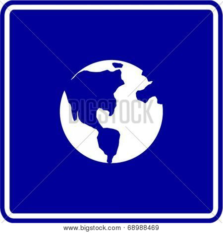 planet earth sign