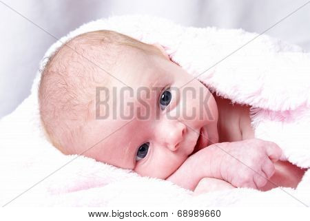Happy New Born Girl