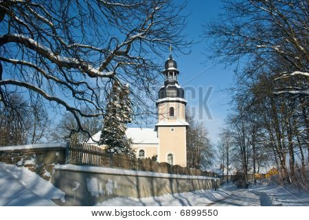 Little Chapel In The Snow
