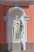 picture of exaltation  - Statue of Paul the Apostle of Bell tower  - JPG