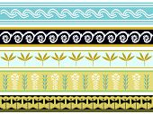 image of minos  - A set of 5 Minoan pattern designs - JPG