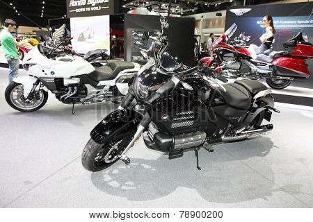 Bangkok - November 28: Honda Motorcycle On Display At The Motor Expo 2014 On November 28, 2014 In Ba