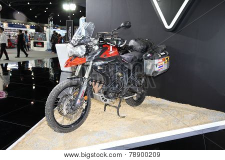 Bangkok - November 28: Triumph Tiger Motorcycle On Display At The Motor Expo 2014 On November 28, 20