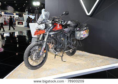 Bangkok - November 28: Triumph Tiger Motorcycle On Display At The Motor Expo 2014 On November 28, 20