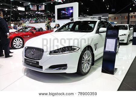 Bangkok - November 28:jaguar Fx Car On Display At The Motor Expo 2014 On November 28, 2014 In Bangko