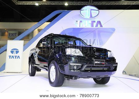 Bangkok - November 28: Tata 150N X-plore 4Wd Car On Display At The Motor Expo 2014 On November 28, 2