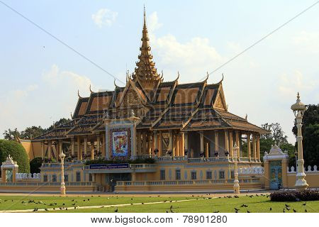 Royal Palace In Phnom Penhh