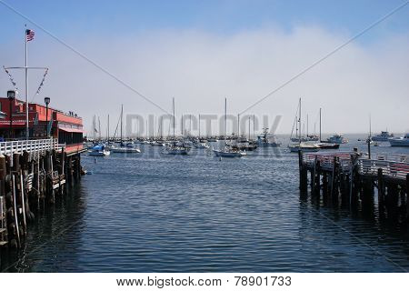 Wharf And Harbor