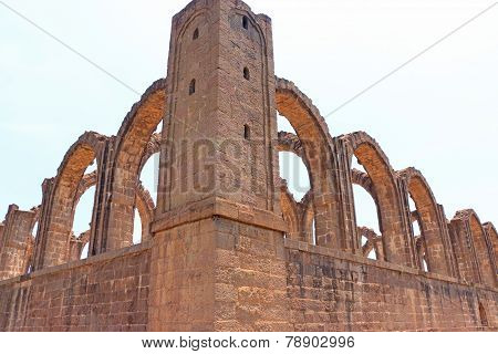 Aincent Arches And Ruins Bijapur; Karnataka; India