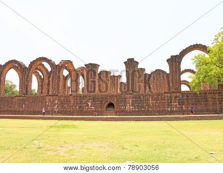 Aincent Arches And Ruins Bijapur Karnataka India
