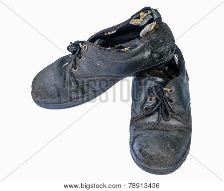 Old Safety Shoes