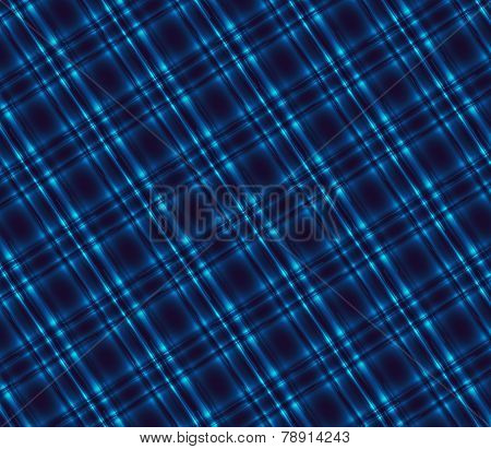 Plaid Dark blue tartan background